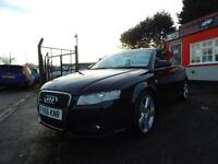 2006 Audi A4 2.0 TDi 170 S Line 4dr 2 former keepers,2 keys,service hsistory,...
