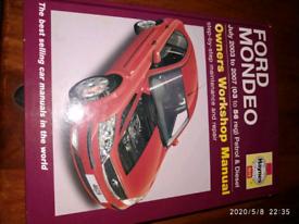 Car manual ford Mondeo