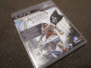 Assass_n's Creed® IV Black Flag™ for PS3, New, but open box $15.