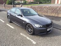 BMW 320d M Sport Saloon Grey, MINT MECHANICAL CONDITION ! Lots of work done !