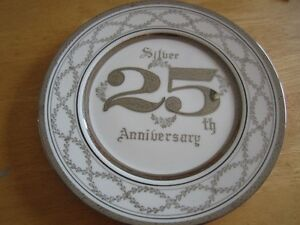 25th Anniversary Collectible plate