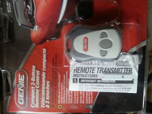 ***NEW*** 3 Button Genie Universal Garage Door Opener Remote