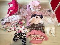 51 piece baby girls bundle 0-3 mostly next, mothercare & gap. Will post for £6