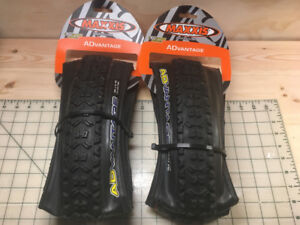 "Pair of Maxxis ""Advantage"" Mountian bike Tires"