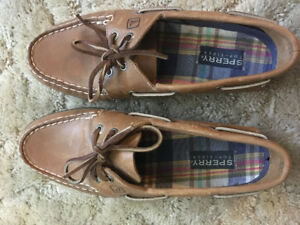 Sperry topsider shoes.
