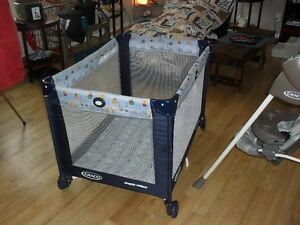 Graco Playpen, Swing and High Chair