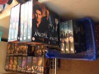 Buffy and Angel VHS box sets £10 ONO