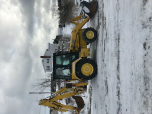 Looking to trade a backhoe for a 4x4 truck