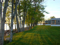 SEASONAL WATERFRONT LIVING ON GRAND LAKE, NB