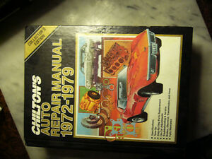 Chilton's Auto Repair  Manual 1972- 1979 and Honda Civic Manual