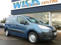 2010 Peugeot PARTNER HDI S L1 850 Van *1 OWNER* Manual Small Van