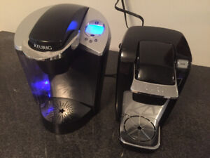 2 Keurig coffee makers