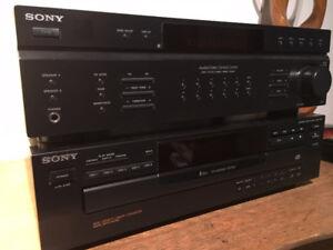 AMPLI ET LECTEUR 5 DISCS DE SONY ****COMME NEUF****