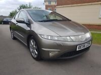 Honda Civic 1.8 i-VTEC EX (grey) 2007