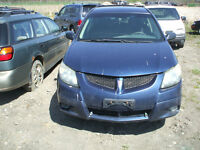 PARTING OUT: 2003 PONTIAC VIBE