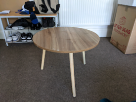 Small Circle Coffee Table