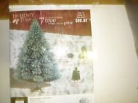 7 ft. Artificial Christmas Tree and Stand