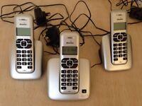 Cordless telephone. Phone