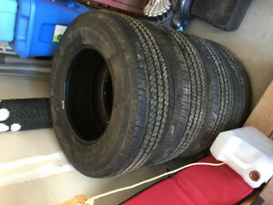 2 days of use tires for sale