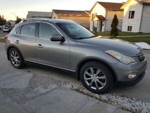 2009 INFINITI EX35 LUXURY AWD SUV CAMERA, LEATHER, ROOF
