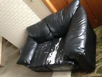 Used leather couch to give away