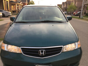 2002 Honda Odyssey EX-Leather