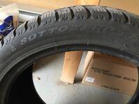 Winter tires Audi Pirelli sottozero set of 2