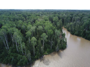 40 Acre Lot in Northern Ontario. Land on the Abitibi River!
