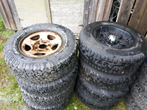 Chevy/Toyota wheels and tires