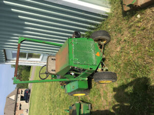 "60"" bobcat / ransomes mower for parts"