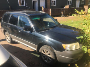 2006 fully loaded awd Subaru forester