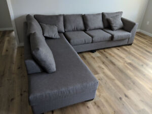 Massive sectional couch for sale.