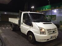 FORD TRANSIT TIPPER (LOW MILES)