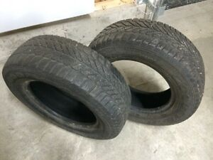 Pneus Goodyear Ultra grip 215/65R15