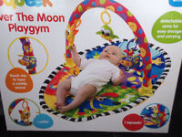 Brand new over the moon baby gym