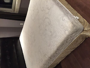Plush foam queen mattress for $80 OBO