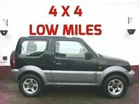4X4 SMALL ENGINE 2007 SUZUKI JIMNY 1.3 JLX+ LOW MILES FULL SERVICE HISTORY