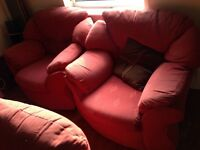 Free sofa and armchairs
