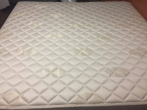 King Mattress and Bed Frame