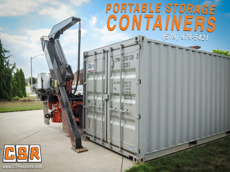 PORTABLE STORAGE CONTAINERS // COXON'S SALES & RENTALS LTD ...