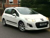 2011/11 REG PEUGEOT 308 SW 1.6HDi ** 1 OWNER ** DIESEL ** ESTATE **