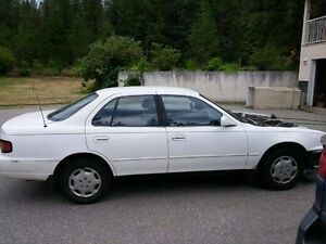 1992 Toyota Camry LE Sedan Parts Car