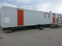 SEEKING UNWANTED OFFICE TRAILERS AND MOBILE HOMES FOR SCRAP.