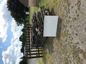 FREE SKIDS AND FIREWOOD