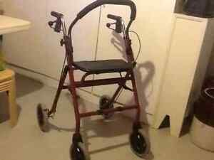 Walker, Seniors ,special need after surgery,fold away, ...seat,