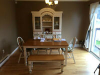 Dinning room set $1600 OBO Real Wood