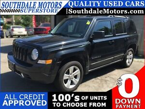 2011 JEEP PATRIOT LATITUDE X * 4WD * LEATHER * SUNROOF * HEATED