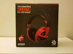 Steelseries Siberia V2 Msi special edition gaming headset