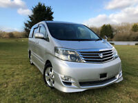 FRESH IMPORT 2005 FACE LIFT TOYOTA ALPHARD 3.0 VVTI PETROL AUTO ELECTRIC DOORS