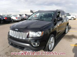2014 JEEP COMPASS LIMITED 4D UTILITY